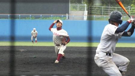 東川投手(甲南)